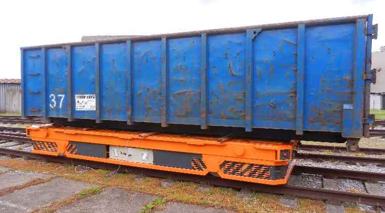 Тележка-транспортер грузовой