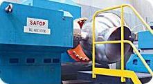 Оборудование обработки сфер шаровых задвижек